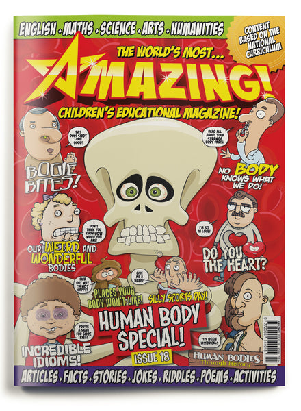 Amazing! Issue 18 - Human Body