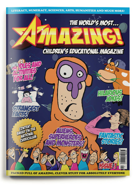 Amazing! Issue 1 - Extraterrestrial