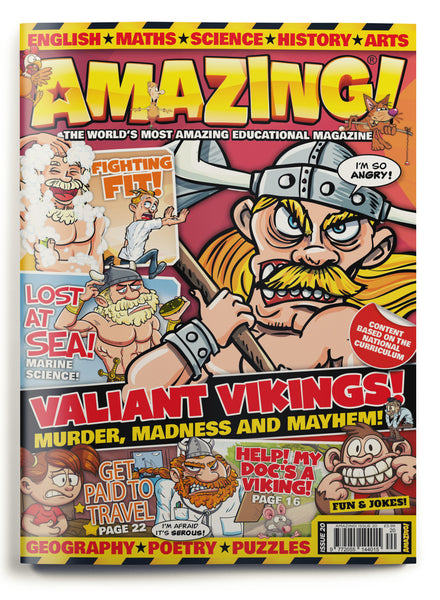 Amazing! Issue 20 - Valiant Vikings