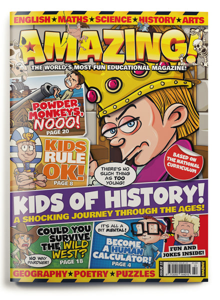 Amazing! Issue 22 - Kids of History