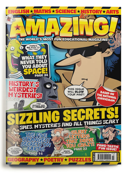 Amazing! Issue 23 - Sizzling Secrets