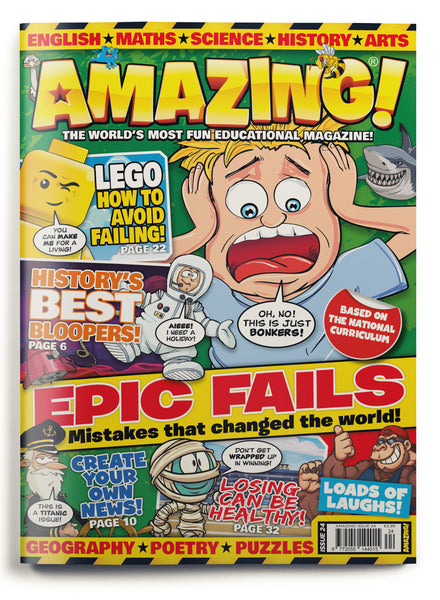 Amazing! Issue 24 - Epic Fails