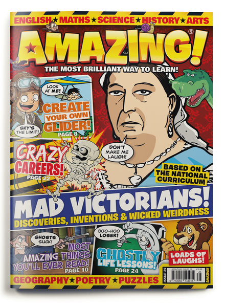 Amazing! Issue 25 - Mad Victorians