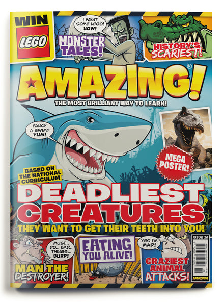 Amazing! Issue 26 - Deadly Creatures