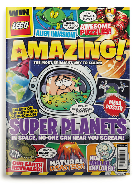 Amazing! Issue 27 - Super Planets!