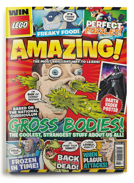 Amazing! Issue 28 - Gross Bodies!