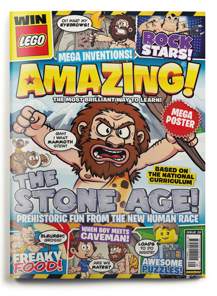 Amazing! Issue 29 - The Stone Age!