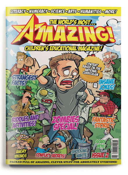 Amazing! Issue 2 - Zombies