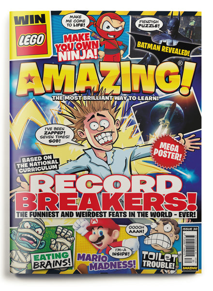 Amazing! Issue 30 - Record Breakers!