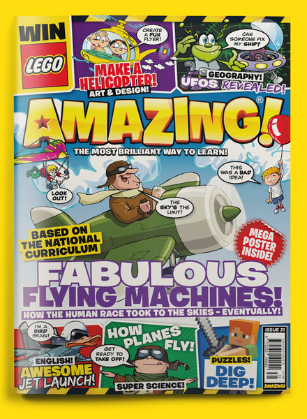 Subscribe To Amazing! Children's Magazine For 12 Months - Save 40%