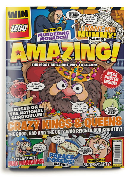 Amazing! Issue 32 - Crazy Kings and Queens