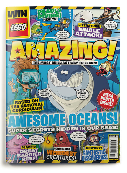 Amazing! Issue 33 - Awesome Oceans!