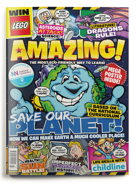Amazing! Issue 37 - Save The Planet!