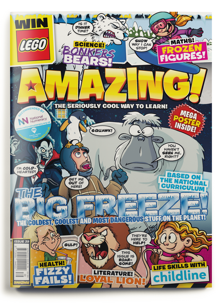 Amazing! Issue 39 - The Big Freeze!