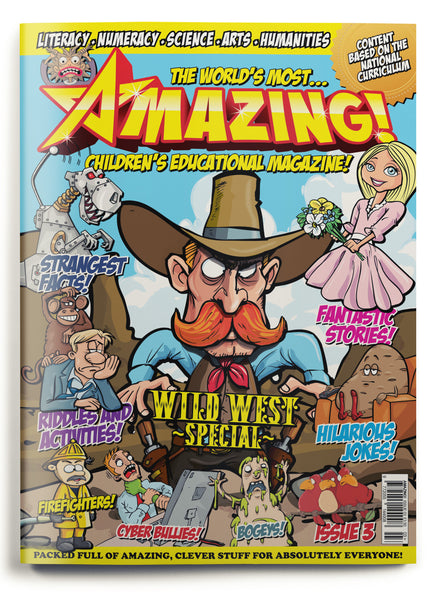 Amazing! Issue 3 - Wild West