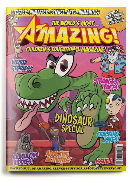Amazing! Issue 4 - Dinosaurs