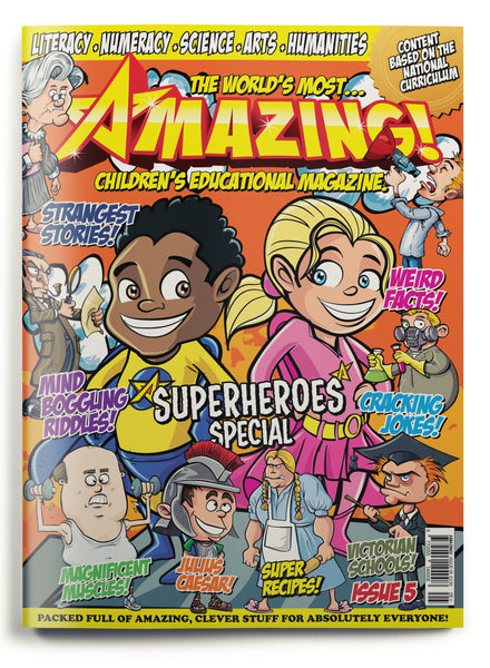 Amazing! Issue 5 - Superheroes