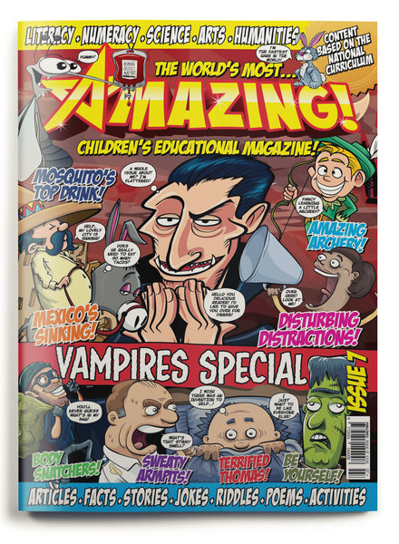 Amazing! Issue 7 - Vampires
