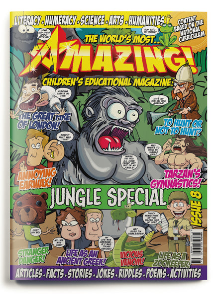 Amazing! Issue 8 - Jungle