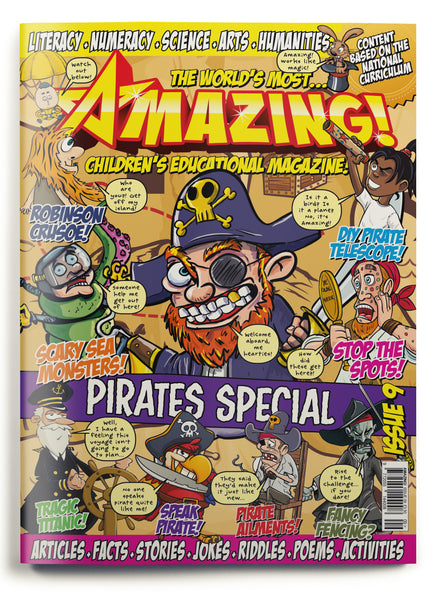 Amazing! Issue 9 - Pirates
