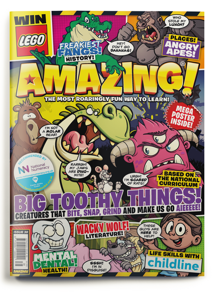Amazing! Issue 38 - Big Toothy Things!