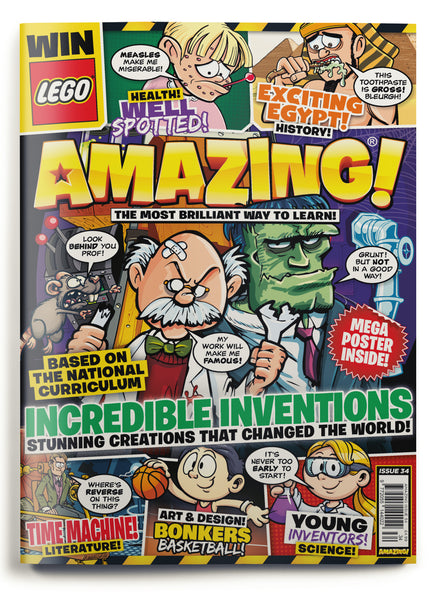 Amazing! Issue 34 - Incredible Inventions!
