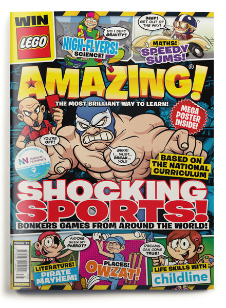 Amazing! Issue 35 - Shocking Sports!
