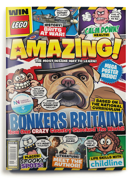 Amazing! Issue 36 - Bonkers Britain!