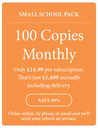 Amazing! Magazine - School Subscription - Small School Pack - 100 Copies Monthly - Amazing Children's Magazine