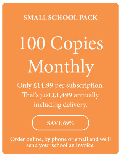 Amazing! Magazine - School Subscription - Small School Pack - 100 Copies Monthly