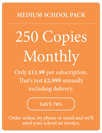 Amazing! Magazine - School Subscription - Medium School Pack - 250 Copies Monthly - Amazing Children's Magazine