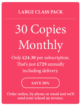 Amazing! Magazine - School Subscription - Large Class Pack - 30 Copies Monthly - Amazing Children's Magazine
