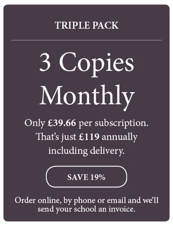Amazing! Magazine - School Subscription - Triple Pack - 3 Copies Monthly - Amazing Children's Magazine