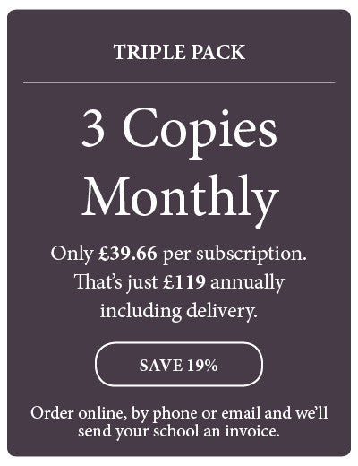 Amazing! Magazine - School Subscription - Triple Pack - 3 Copies Monthly