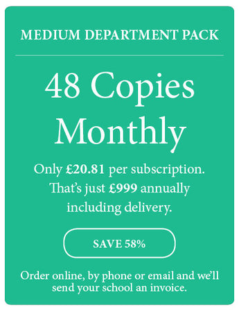 Amazing! Magazine - School Subscription - Medium Department Pack - 48 Copies Monthly - Amazing Children's Magazine
