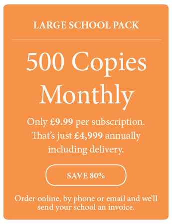 Amazing! Magazine - School Subscription - Large School Pack - 500 Copies Monthly - Amazing Children's Magazine