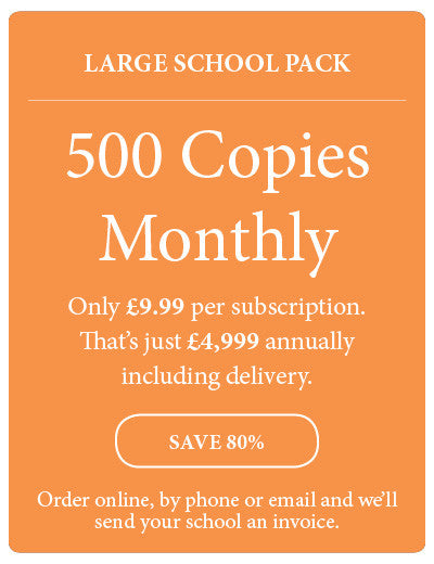 Amazing! Magazine - School Subscription - Large School Pack - 500 Copies Monthly