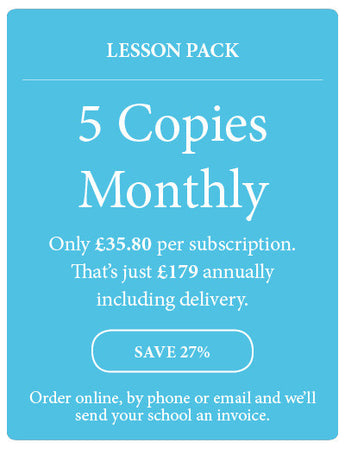 Amazing! Magazine - School Subscription - Lesson Pack - 5 Copies Monthly - Amazing Children's Magazine
