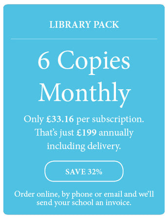 Amazing! Magazine - School Subscription - Library Pack - 6 Copies Monthly - Amazing Children's Magazine