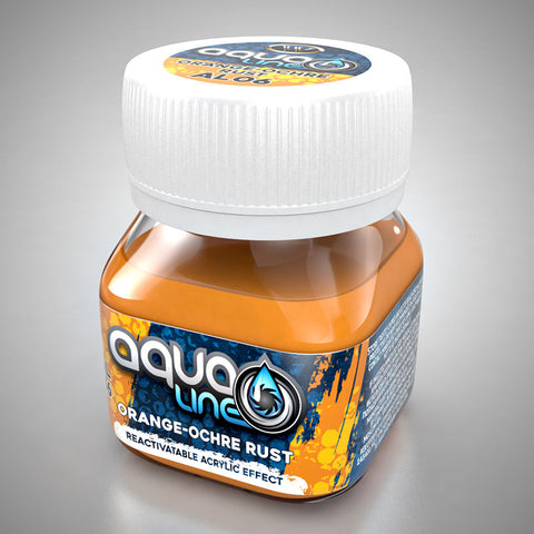 AL06 - Orange-Ochre Rust
