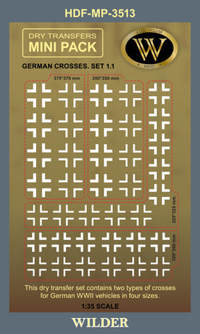 HDF-MP-3513 -  German Crosses. Set 1.1