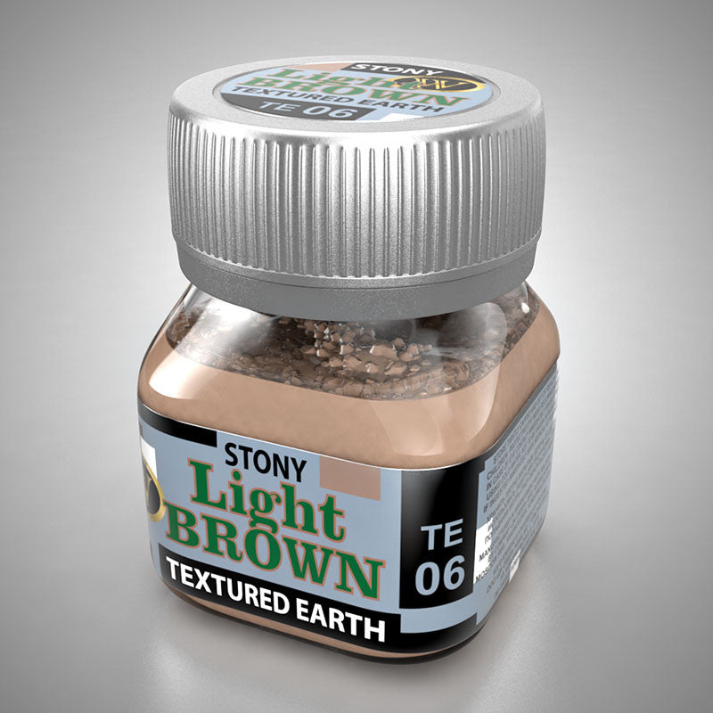 TE06 - Light Brown - Stony