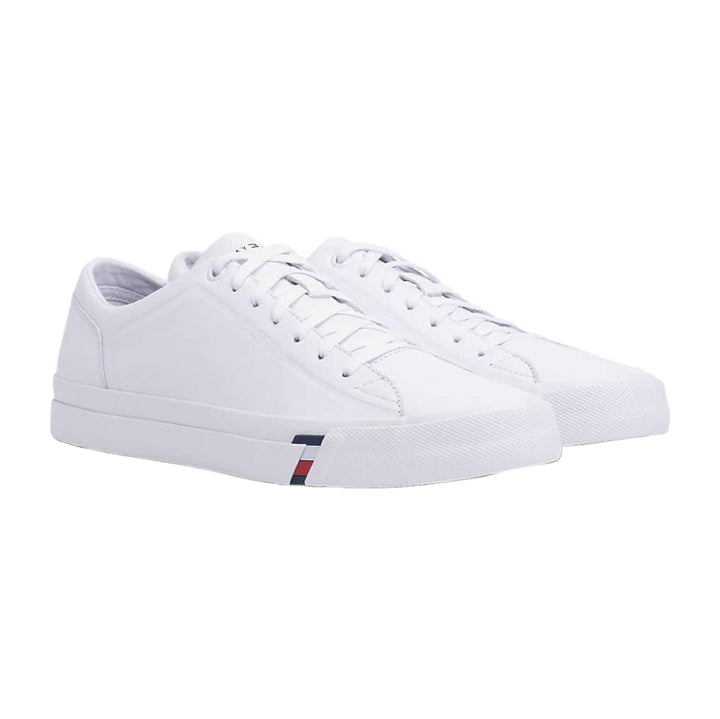 TOMMY HILFIGER CORPORATE LEAGUE TRAINER FM0FM02672 WHITE