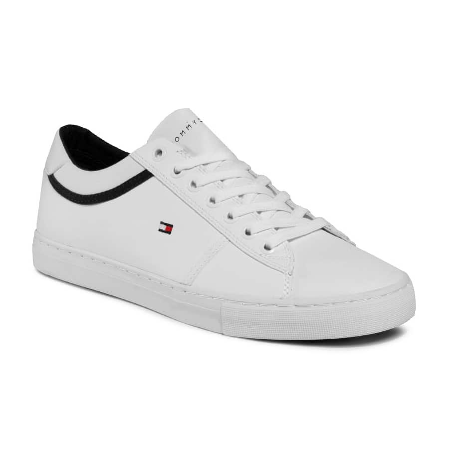 TOMMY HILFIGER ESSENTIAL LEAGUE TRAINER FM0FM02681 WHITE