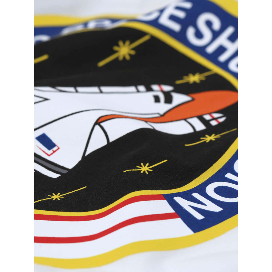 ALPHA INDUSTRIES S/S SPACE SHUTTLE T-SHIRT 176507B WHITE