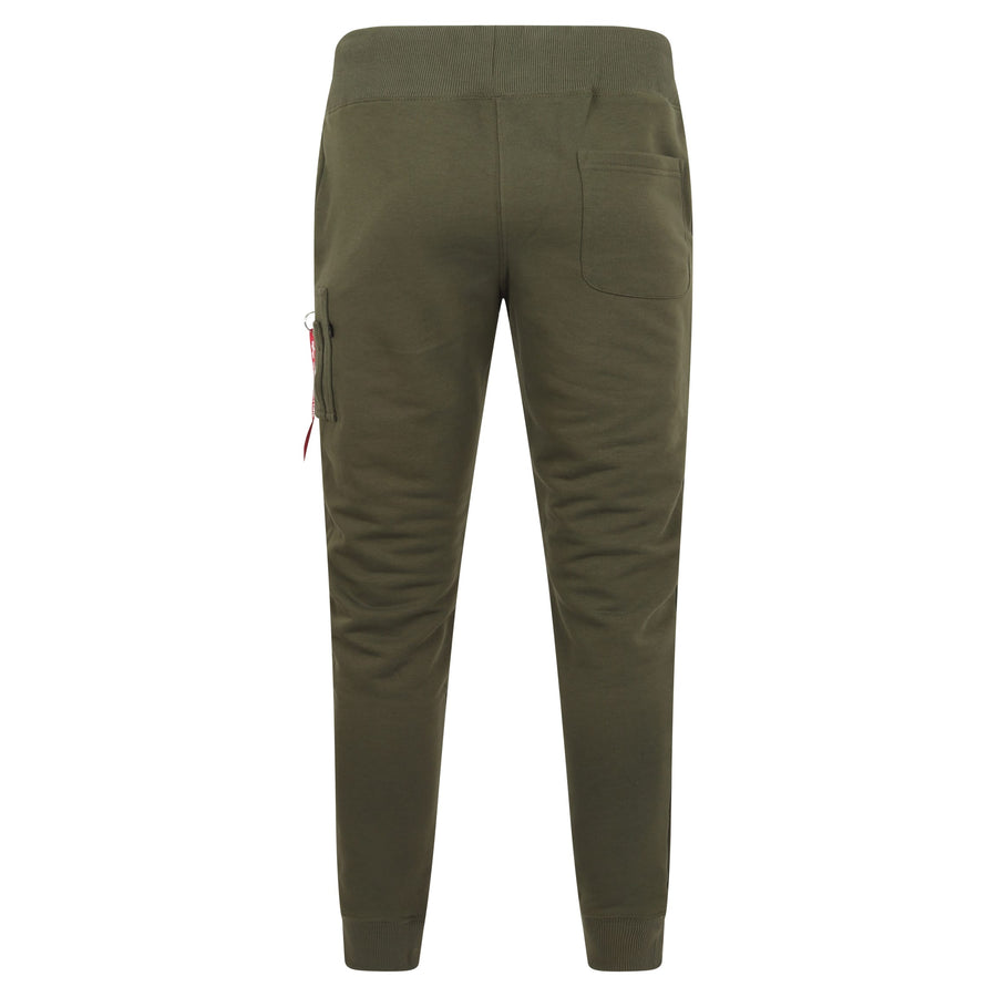 ALPHA INDUSTRIES DRAWSTRING X-FIT JOGGER 178333 DARK GREEN