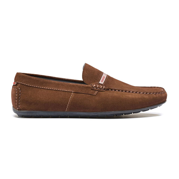 BOSS DANDY SLIP ON LOAFER 50428711 DARK BROWN