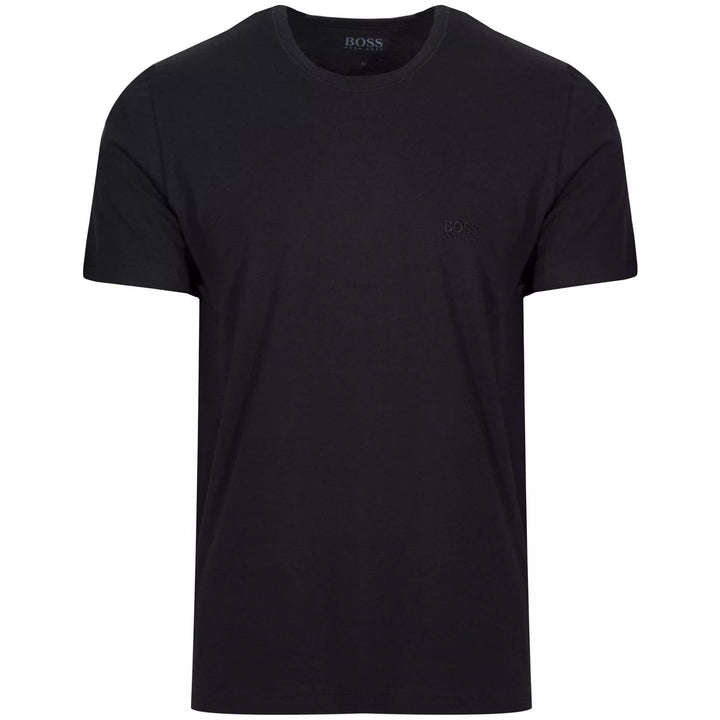 BOSS S/S LOGO BRANDED T-SHIRT 50325388 BLACK