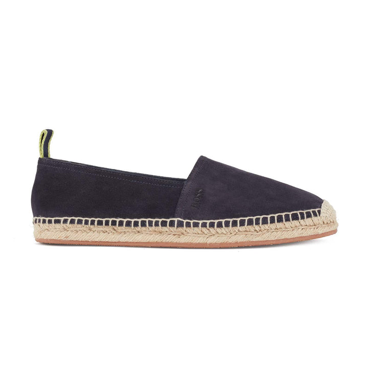 HUGO BOSS MADEIRA_SLON ESPADRILLE SHOE 50434445 DARK BLUE (401)