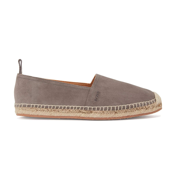 HUGO BOSS MADEIRA_SLON ESPADRILLE SHOE 50434445 DARK GREY (021)